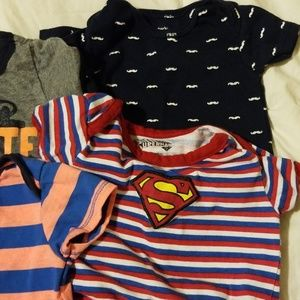 Carter's One Pieces - Baby boy onesie tshirts most of them are size 6/9